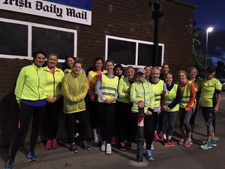 Picture of Improvers Group in High Viz Jackets